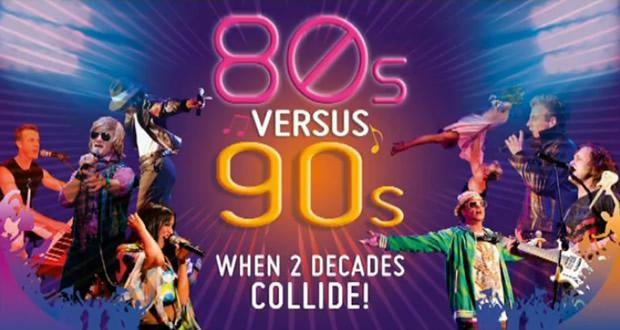 80 VS 90s to DJs to Ti år