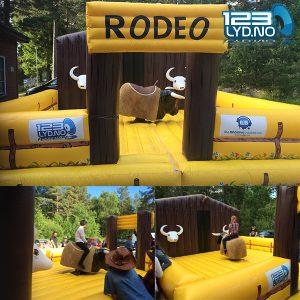 Rodeo okse mekanisk okse